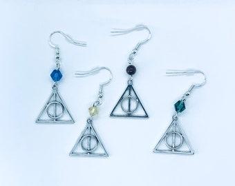 Wizarding World House Crystal Earrings