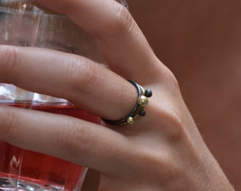 Pair of stackable ring