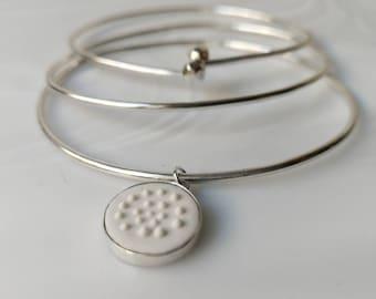 Trio of Stackable Bracelets