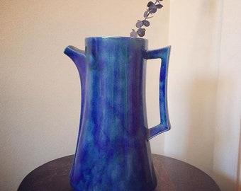 Arnel's Blue Tall Vase