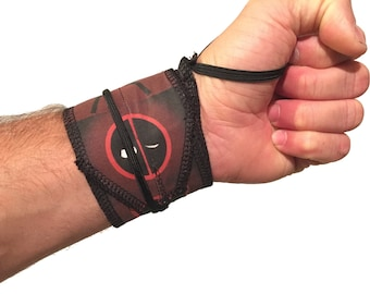 Deadpool CrossFit Weightlifting Wrist Wraps