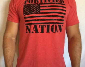 Train for the Unknown - Men's t-shirt Red