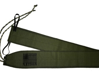 Fortified Nation Wrist Wraps - Military Green / Camouflage