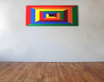 Passage To Nowhere - Acrylic on canvas - 100cm x 40cm