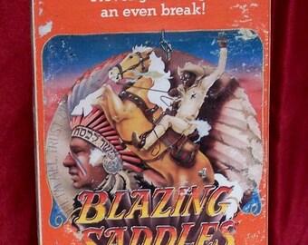 Blazing Saddles VHS Mel Brooks, Cleavon Little,Gene Wilder, Slim Pickens