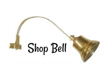 Vintage Bells Shopkeepers Bell Solid Metal Shop Decor Doorbell Dog Training Bell
