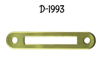 FILE CABINET HARDWARE BRASS PLATED CARD HOLDER  D3129