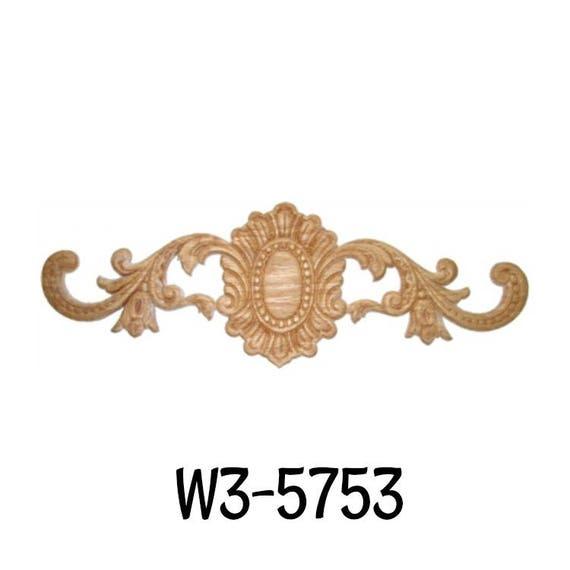 Skeleton Key Badge Walls Carved Wood Ornamental Decor Free Bonus Veneered Oak Bow Decorative Ornament Applique Onlay Antique /& Modern Furniture Doors 12-5//16 x 2-1//8 W3-5731