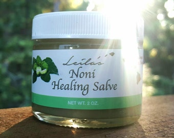 Organic Noni Healing Salve Herbal Balm