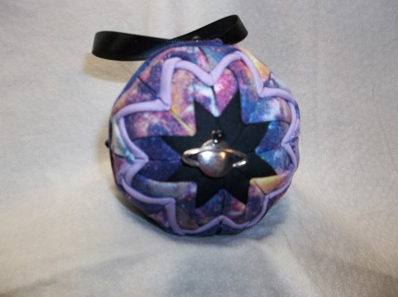 Space 1 Quilted Christmas Ornament