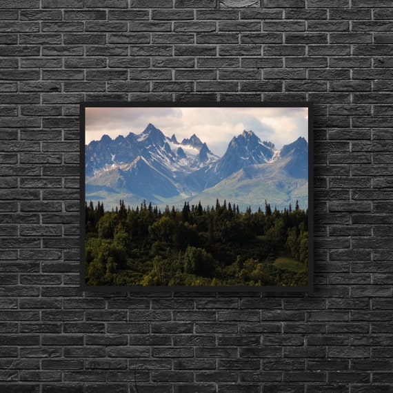 Mountain Forest Photography - Nature Photography - Forest Landscape on