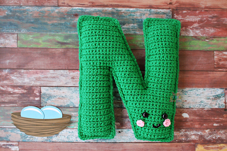 12 Crochet Letter Patterns | Guide Patterns | 2000x3000