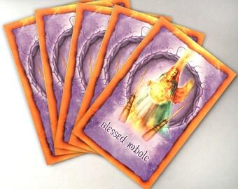 Imbolc Cards - Pack of 5 - High Holiday - Sabbat Cards