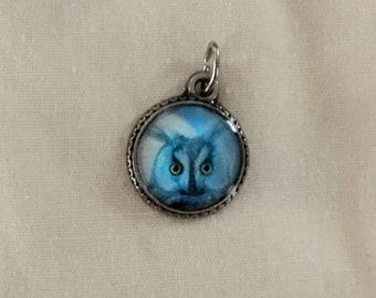 Owl Halloween Charm - Halloween Jewelry - Gothic Jewelry