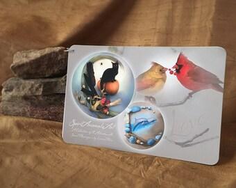 Art Booklet - Spirit Animal Art - Cat Art - Bird Art - Dolphin Art - Tortoise Art - Fox Art - Frog Art - Duck Art - Deer Art - Wolf Art