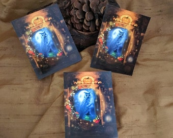 Halloween Stickers, Owl Stickers, Pumpkin Witchy Stickers, Samhain Stickers