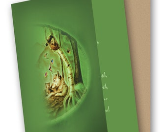 Blessed Mother 5 x 7 Greeting Card with Envelope