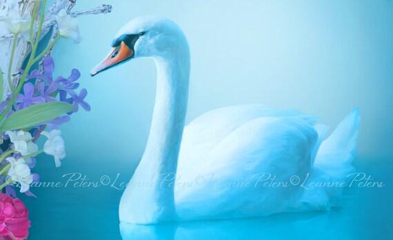 Inner Grace By Leanne Peters Swan Art Spring Art Fantasy Art