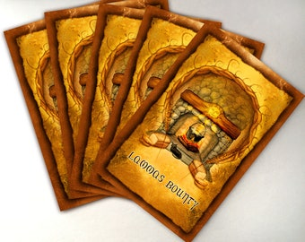 Lammas Card Pack of 5 Greeting Cards, High Holiday Cards, Sabbat Cards, First Harvest Card