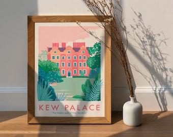 NEW - Kew Palace, Kew Gardens Illustration Print