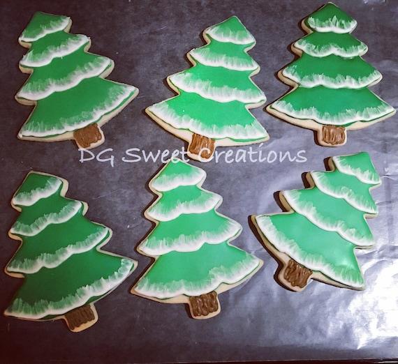 Christmas Tree Decorated Cookies: Christmas Tree Sugar Cookies Tree Sugar Cookie