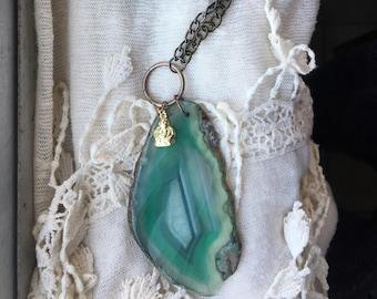 Wild Abandon Agate Necklace