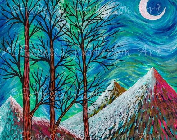 8x12 Print - Three Trees