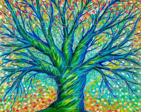 5x5 Print - The Faerie Tree