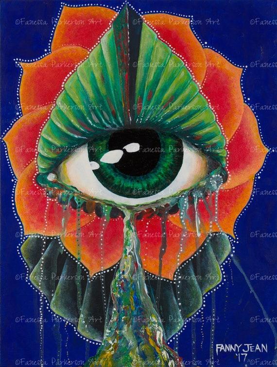 5x7 Print - The Eye Art