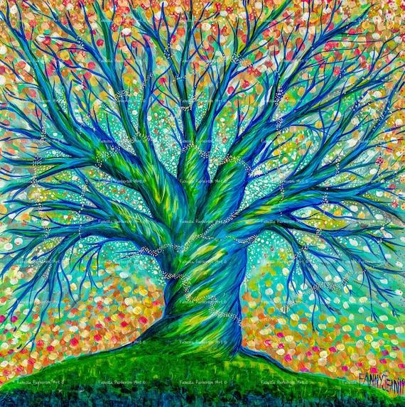 14x14 Giclée - The Faerie Tree