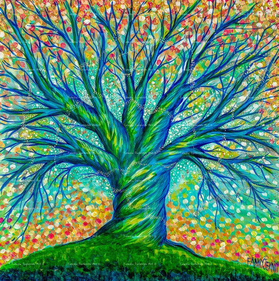 11x14 Poster Board - The Faerie Tree