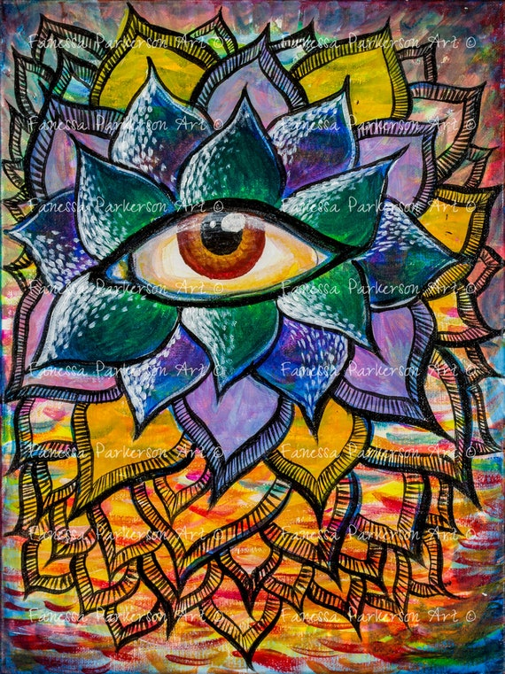 5x7 Print - Succulent Eye