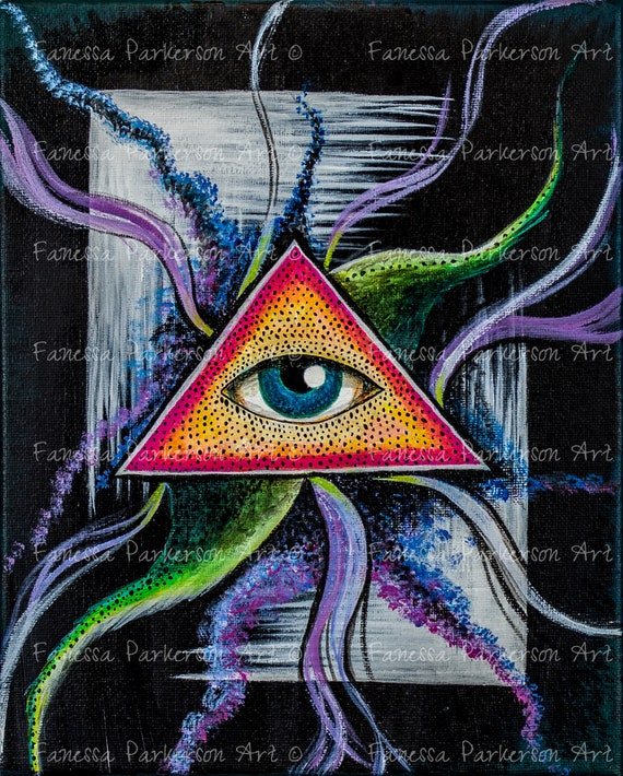 11x14 Poster Board - Eye of Cthulu
