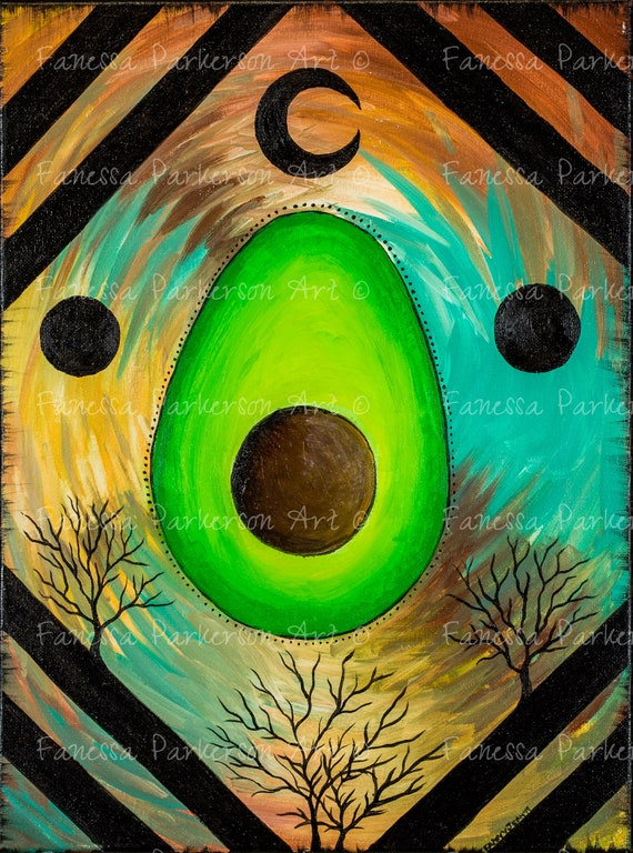 11x14 Poster Board - The Avo Moon