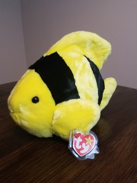 8abff415249 TY Beanie Buddy Bubbles the Fish
