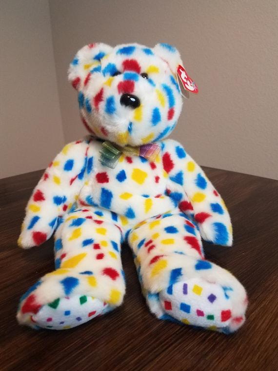 TY Beanie Buddy Ty 2k the Bear  79aa313d6e7