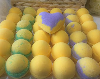 Lots'a Lemon Bath Bombs
