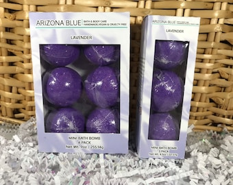 SALE Lavender Purple Bath Bomb Multipacks // Bath Bomb 3 & 6 Pack // Great Value, Gift Set // Handmade, Vegan and Cruelty Free // Wholesale