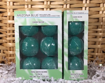 SALE Dark Musk Bath Bomb Multipacks, Bath Bomb 3 & 6 Pack, Great Value, Gift Set, Handmade, Vegan and Cruelty Free, Wholesale