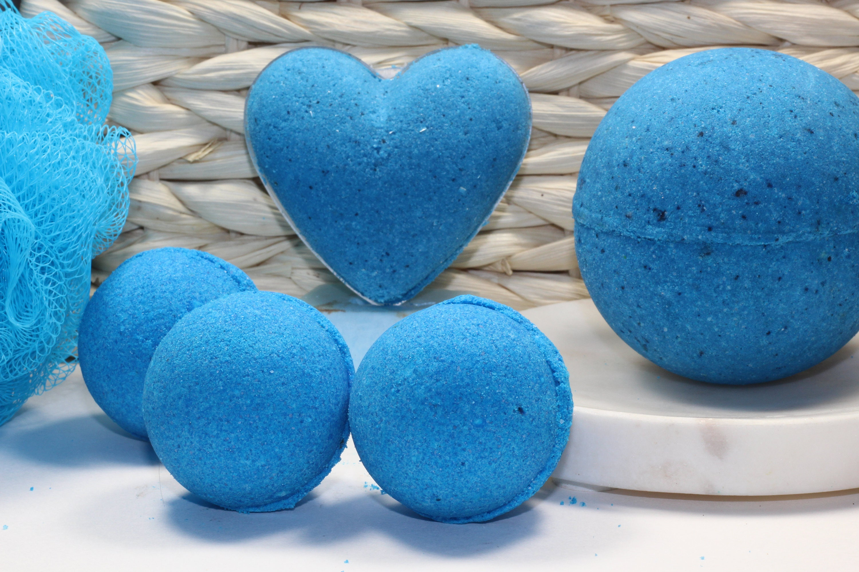 Sale! Blueberry Tea Party Bath Bomb! 3 Sizes Available!, Coconut Oil ...
