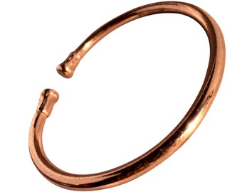 879fdeb591a Magnetic Solid Copper - Plain Torque Bracelet