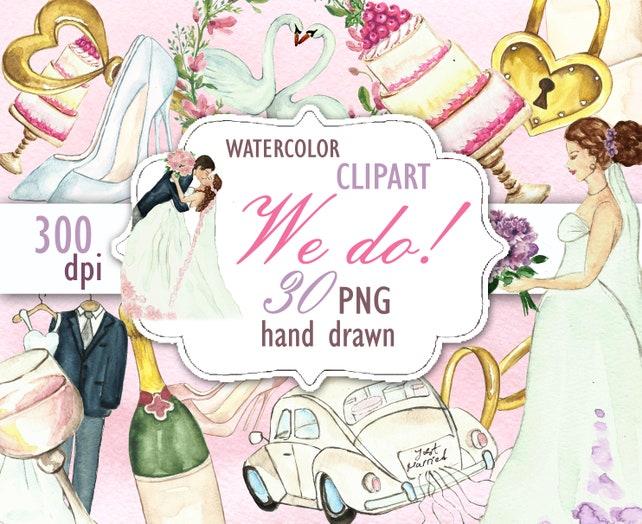 Wedding clipart bride clipart bridal shower invitation diy etsy image 0 filmwisefo