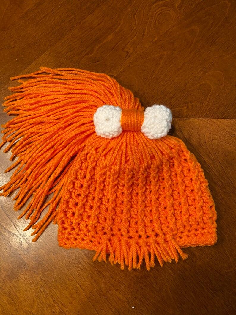 Crochet 3-5M Pebbles Costume Photo Prop