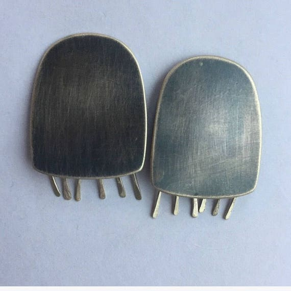Rhopilema Jellyfish Earrings