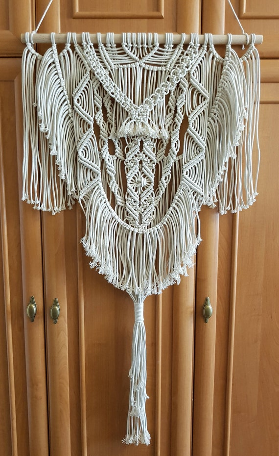 Macrame Wall Hanging Tapestry Woven Bohemian Art Backdrop Wedding Party