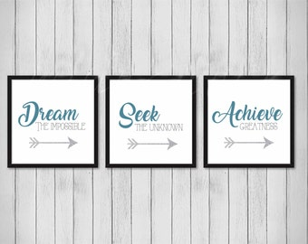 Prints For Wall, Inspirational Wall Art, Office Wall Decor, Wall Art  Quotes, Wall Art Prints, Inspirational Quote, Quote Posters