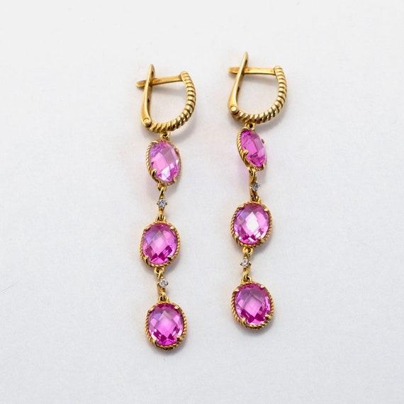 Jewelry Accessories Gems Earring 925 Silver Earring -Red Earring Sz Inc 1-2 Garnet Earring Girlfriend Gift
