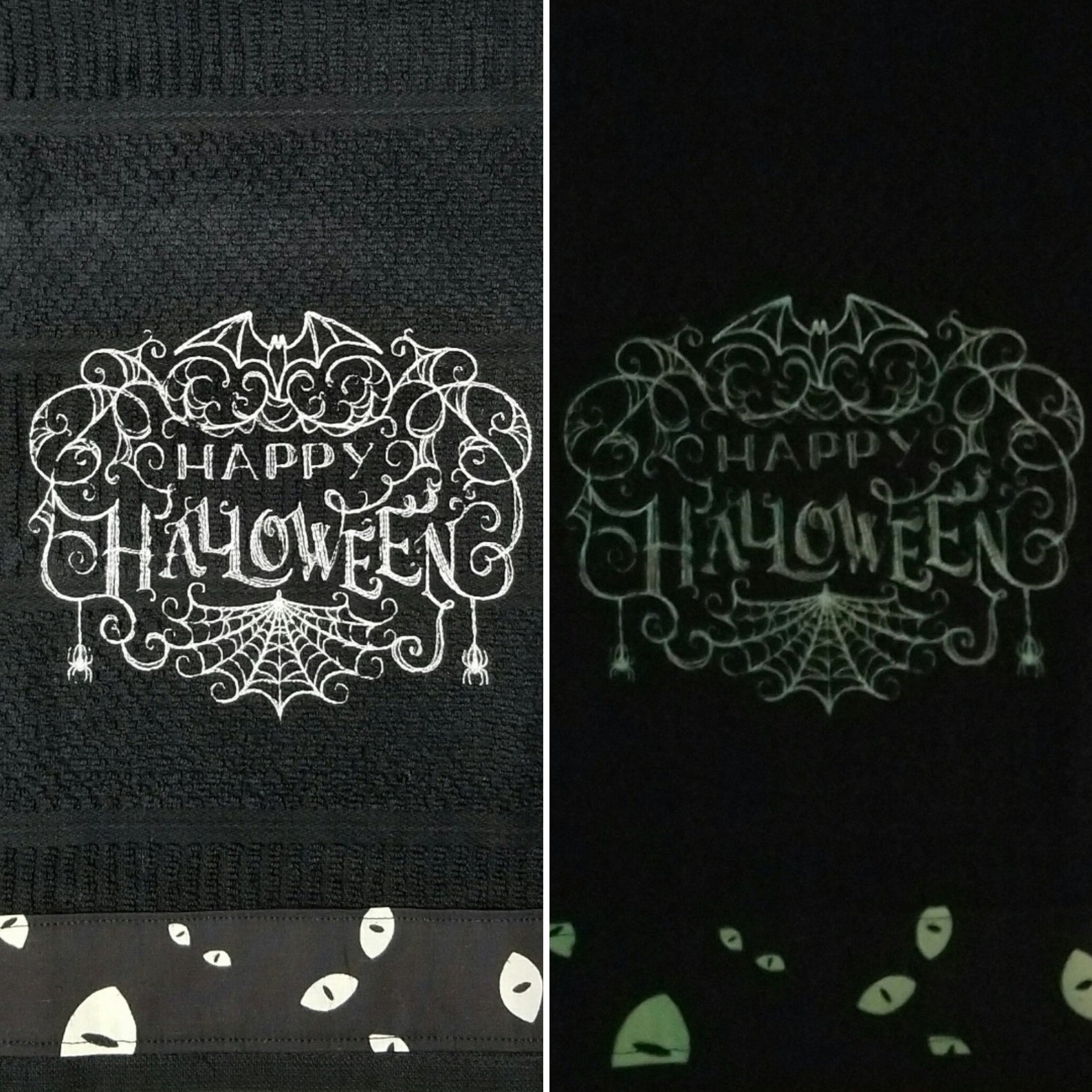 Happy Halloween Kitchen Towels Page Two