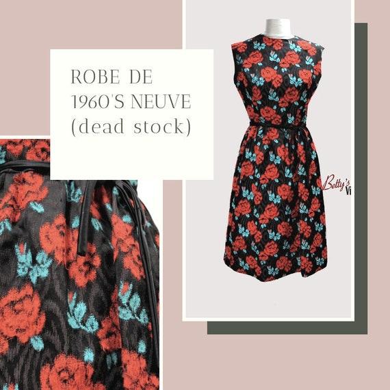 Vintage dress 1960's new winter right (dead stock)