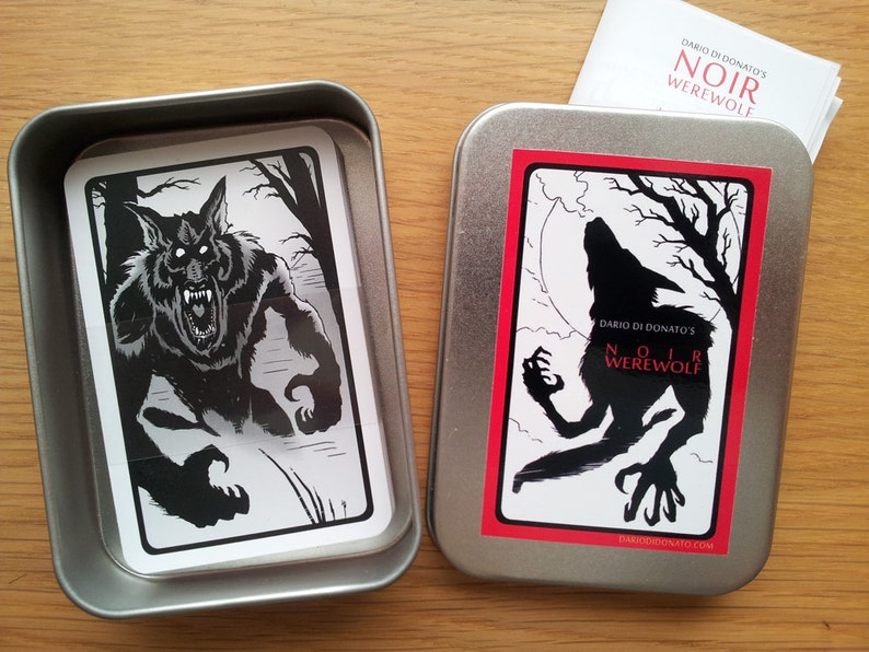 Noir Werewolf   2nd Edition  IRON GREY Edition  Party image 0